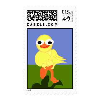 Whacky Bird Stamp