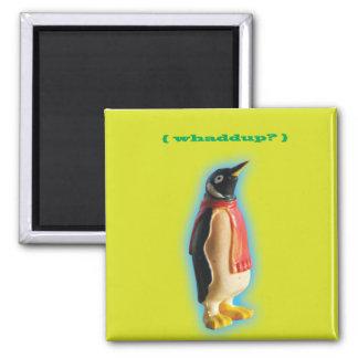 Whaddup? Penguin magnet
