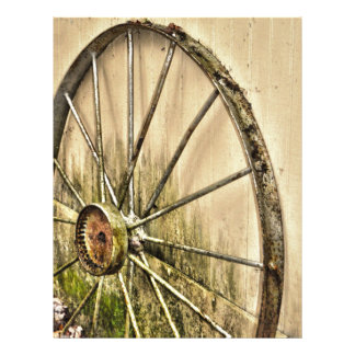 Whagon Wheel Letterhead