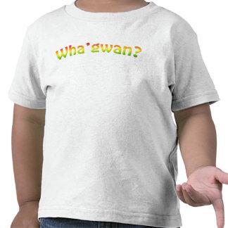 ¿Wha'gwan? Inspirado por Rastamouse Camisetas