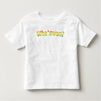 Wha'gwan? Inspired by Rastamouse Toddler T-shirt