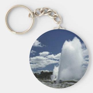Whakarewarewa, Pohutu geyser, Rotorua, New Zealand Keychain