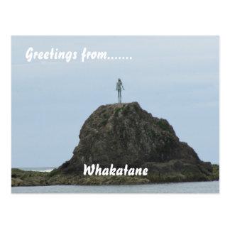 Whakatane, BOP, New Zealand Postcard