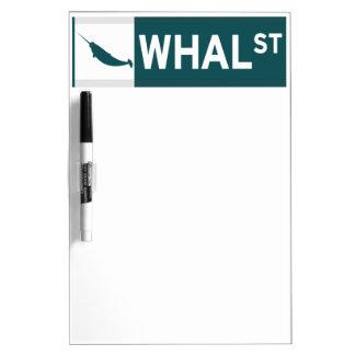 Whal Street Dry-Erase Whiteboards