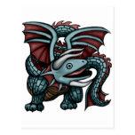 Whalakis Dragon Postcard