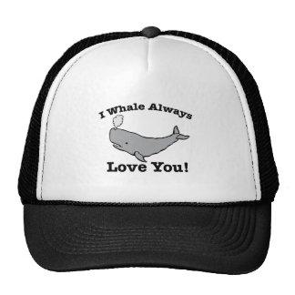 Whale Always Trucker Hat