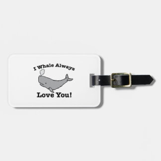 Whale Always Tag For Bags