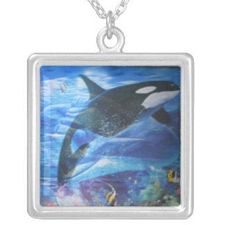 Whale amongst friends necklace