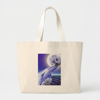 Whale and the moon bags