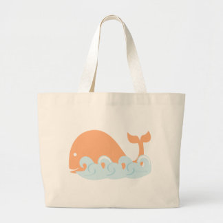 Whale and Waves Bags