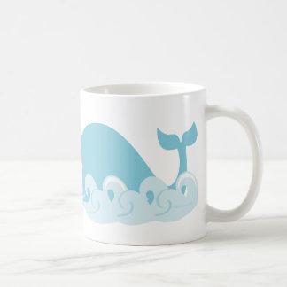 Whale and Waves Coffee Mug