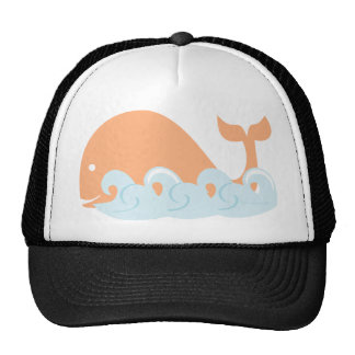Whale and Waves Hats