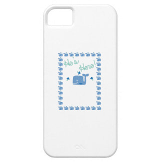 Whale Baby Announcement iPhone 5 Cover