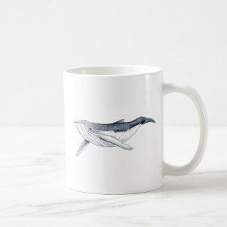whale baby fond transparent coffee mug