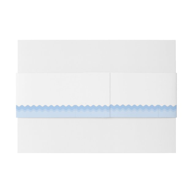 Whale Baby Shower Invitation Belly Band Zazzle