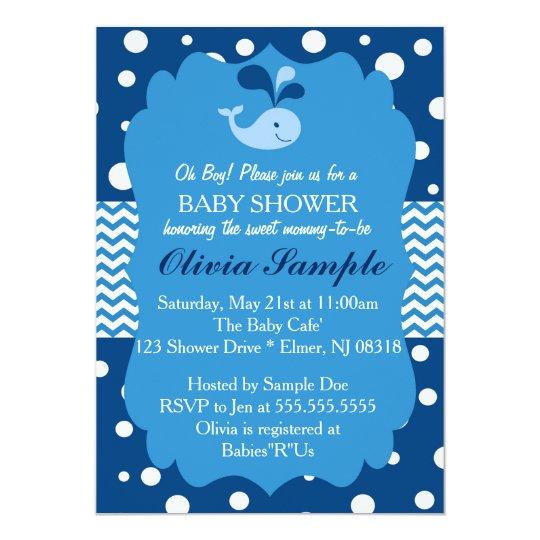 Whale Baby Shower Invitations Koran Sticken Co