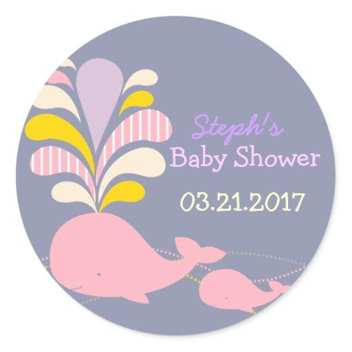 Baby Shower Stickers, Baby Shower Sticker Designs