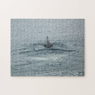 Whale Back and Dorsal Fin Jigsaw Puzzles