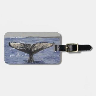 Whale Bag Tags