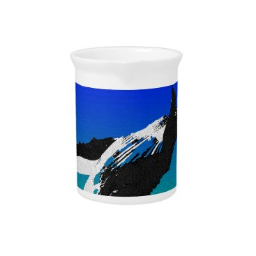 Beach Themed Whale Beverage Pitcher