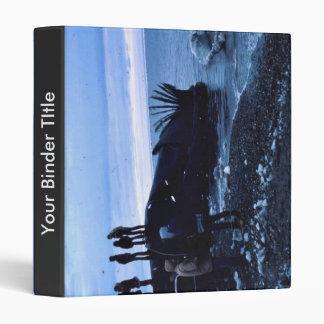 Whale Vinyl Binder