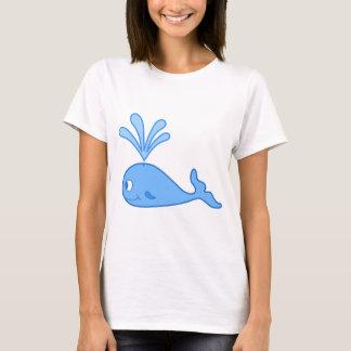 Whale, Blue. T-Shirt