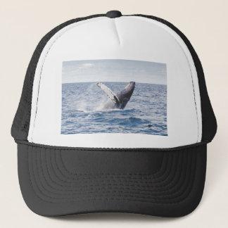 Whale Breaching the Water Trucker Hat