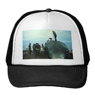 Whale Butchering Trucker Hat