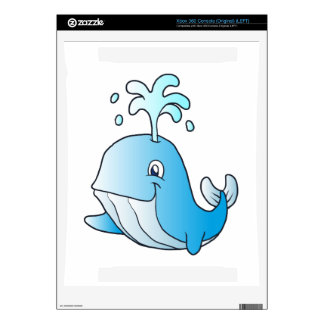 whale cartoon decals for xbox 360