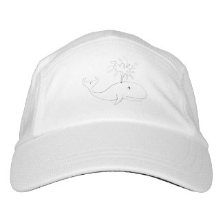 Whale Childish Drawing Hat