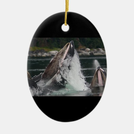 whale christmas ornament