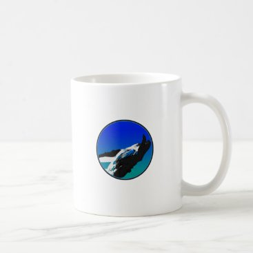 Beach Themed Whale Coffee Mug