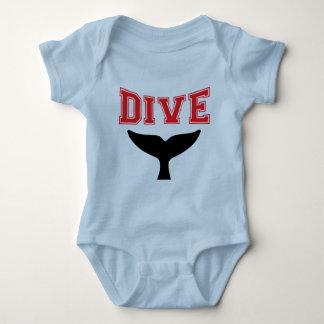 Whale Design SCUBA Dive Infant Baby Infant Creeper