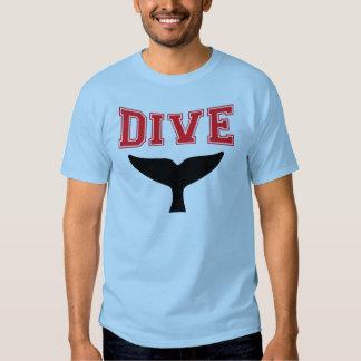 Whale Design SCUBA Dive T-Shirt