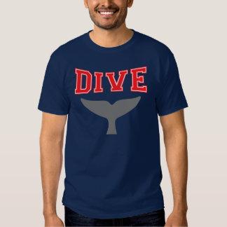 Whale Design SCUBA Dive T Shirt