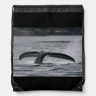whale drawstring backpack
