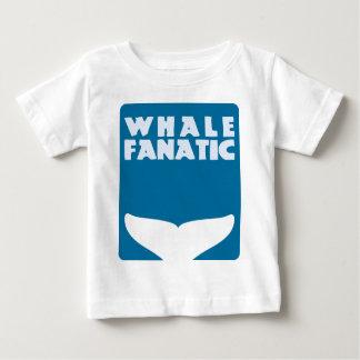 Whale fanatic baby T-Shirt