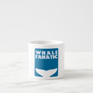Whale fanatic espresso cup