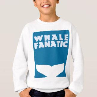 Whale fanatic sweatshirt
