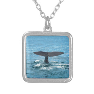 Whale fin custom necklace