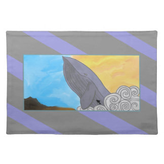 Whale, Fish, and the Elements Cloth Placemat