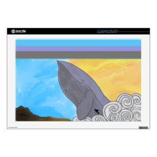 "Whale, Fish, and the Elements Skin For 17"" Laptop"