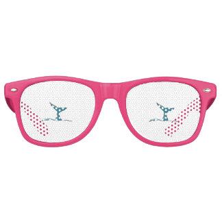 Whale fish fin retro sunglasses