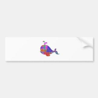 WHALE Fish Sea Creature Bumper Sticker