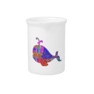 WHALE Fish Sea Creature Pitcher