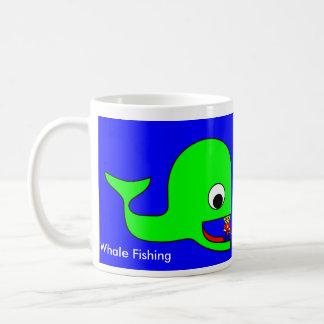 Whale Fishing Coffee Mugs