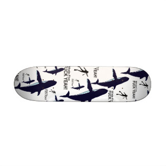 Whale-Five. Skate Board