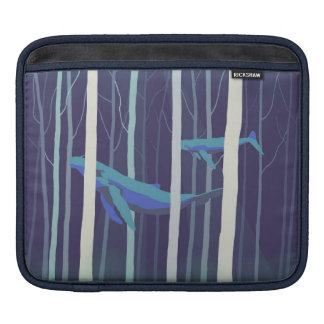 Whale forest sleeves for iPads