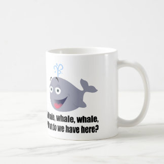 Whale, Funny pun Coffee Mug
