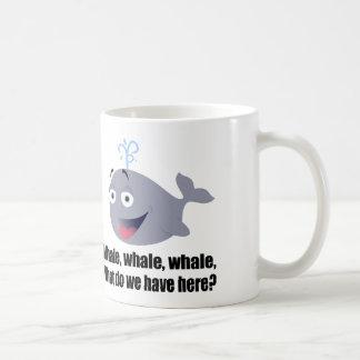 Whale, Funny pun Classic White Coffee Mug